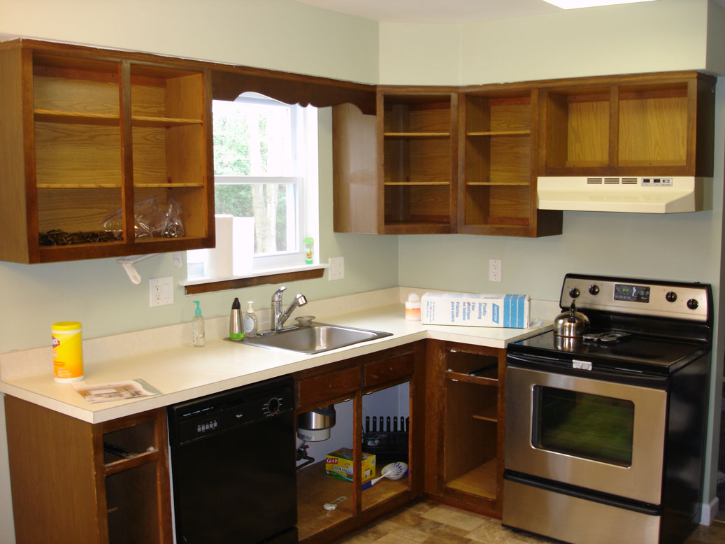 How To Refinish Pickled Oak Kitchen Cabinets