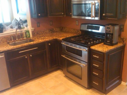 cabinet refinishing options