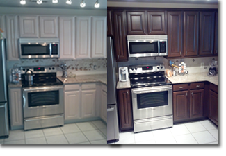 How To Select Your Professional Cabinet Painting Contractor Carm - Cost of painting kitchen cabinets professionally