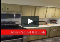 Cabinet Refinishing Before and After Videos