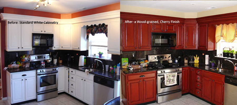 Wonderful Professional Cabinet Refinishing, Cabinet Painting, Faux Finish And Custom  Painting Services